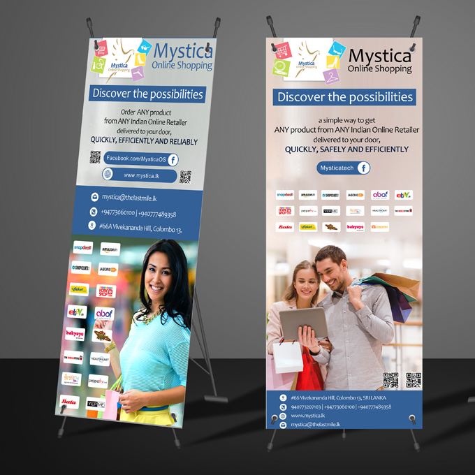 Rollup/X-Stand Banner